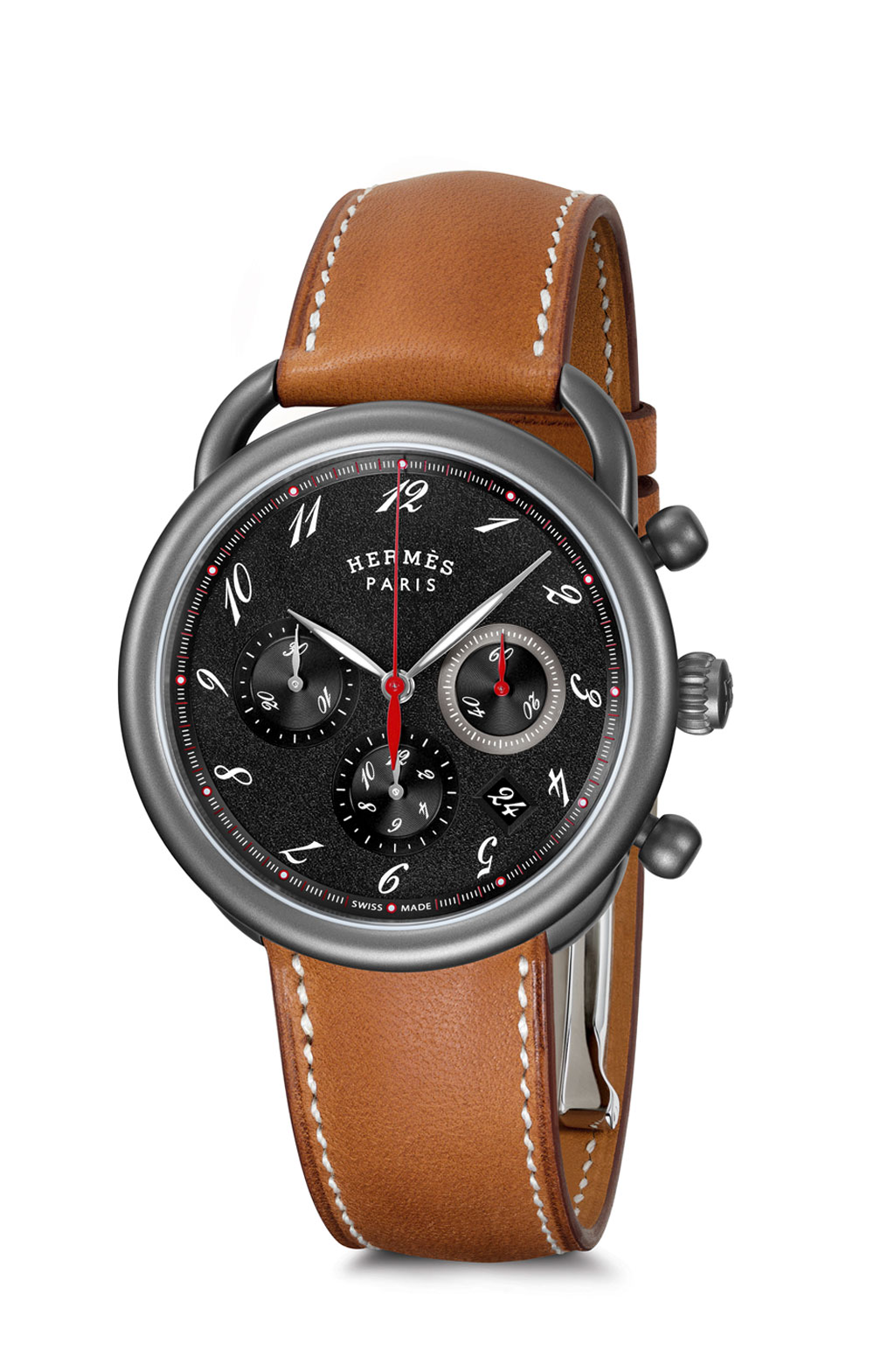 Reloj Hermès Arceau Chrono Titane