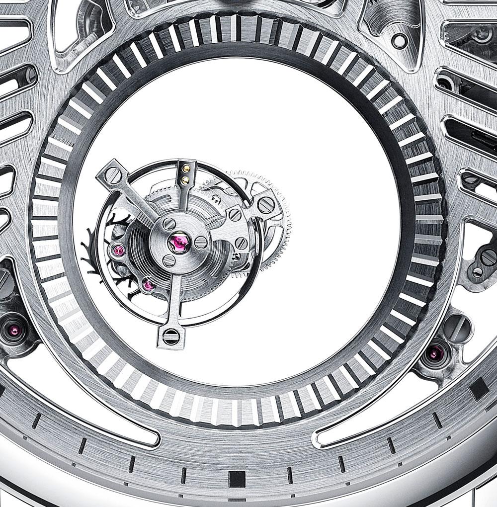 Doble tourbillon Reloj Rotonde de Cartier Mysterious Double Tourbillon