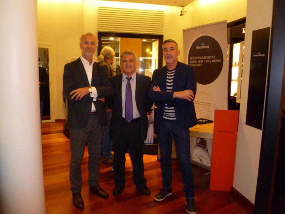 Charles Gastin, Xavier Vendrell y Josep Ventura