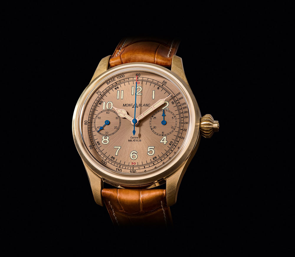 Reloj Montblanc 1858 Chronograph Tachymeter Limited Edition 100