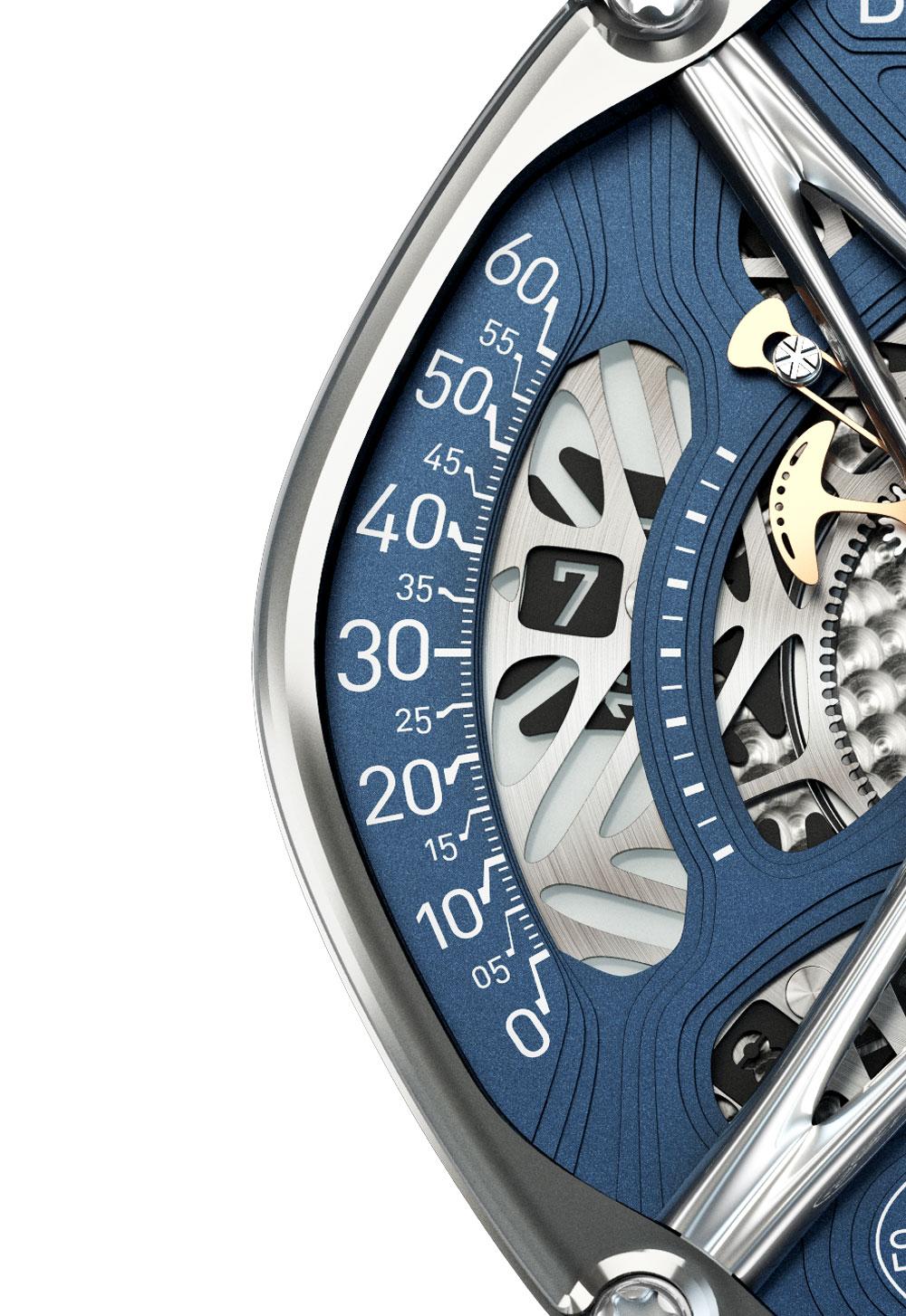 Reloj Perception de Dietrich indicador horas errantes
