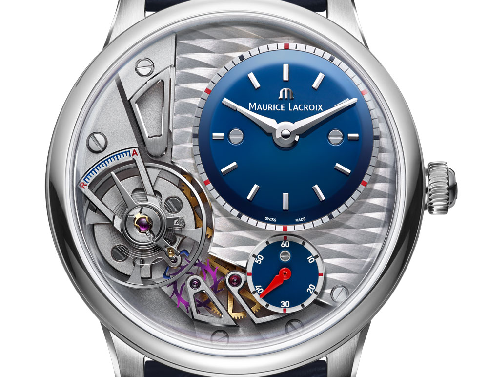 Esfera Reloj Masterpiece Gravity Blue Maurice Lacroix