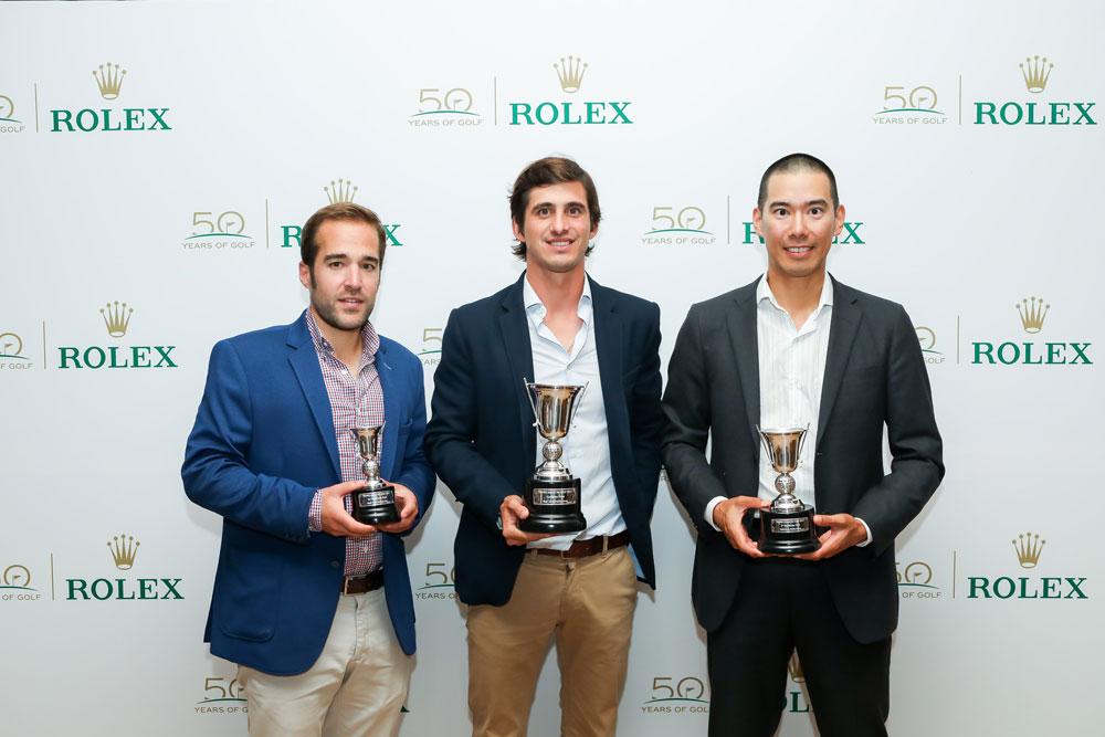 finalistas Trofeo Golf de Rolex