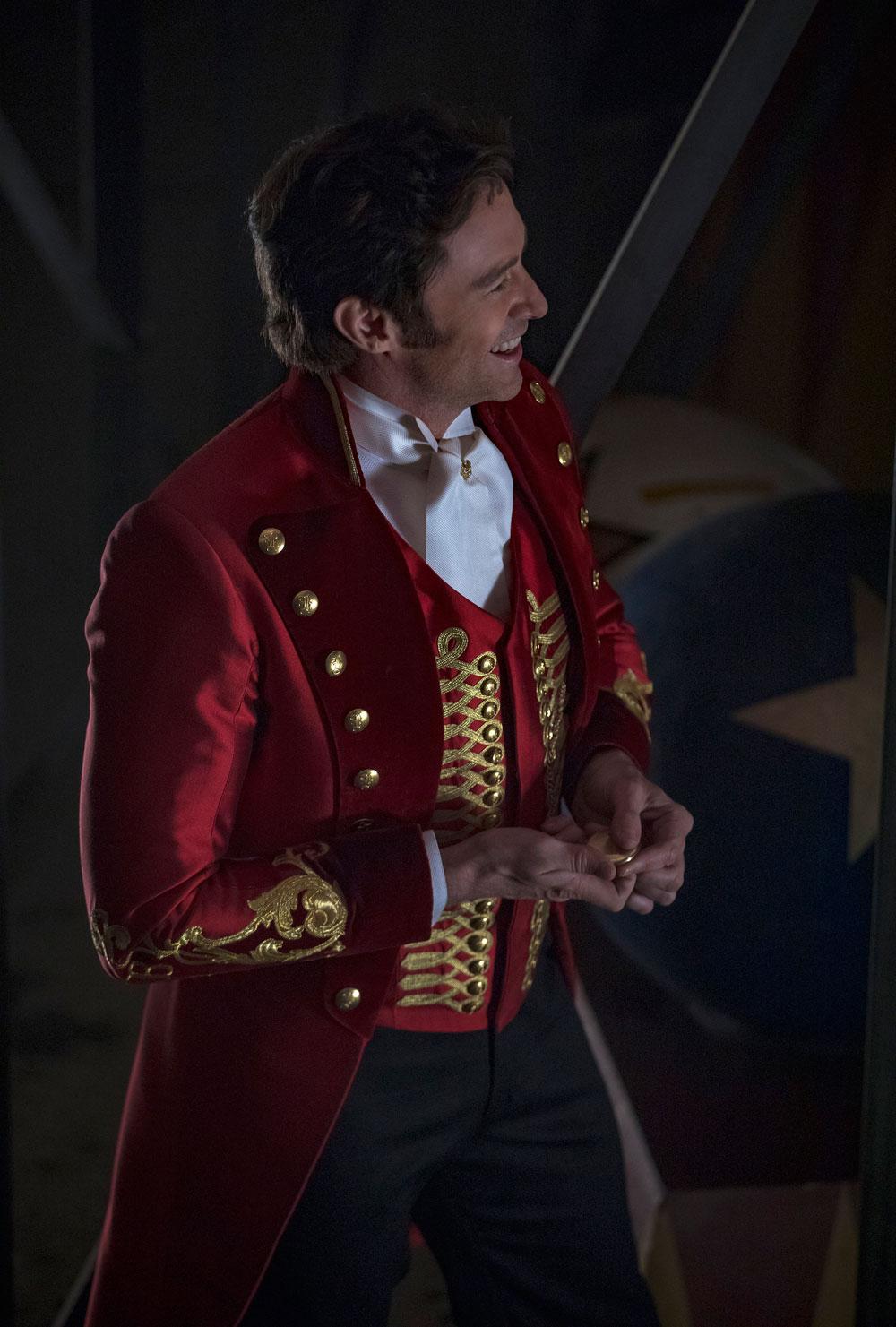 Hugh Jackman con reloj Minerva de Montblanc en la película The greatest showman