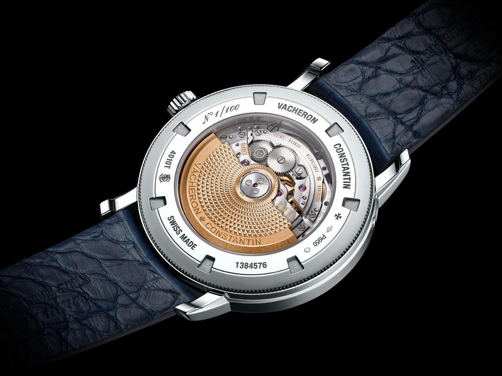 calibre 2460 QCL Reloj Traditionnelle Calendario Completo Collection Excellence Platine de Vacheron Constantin