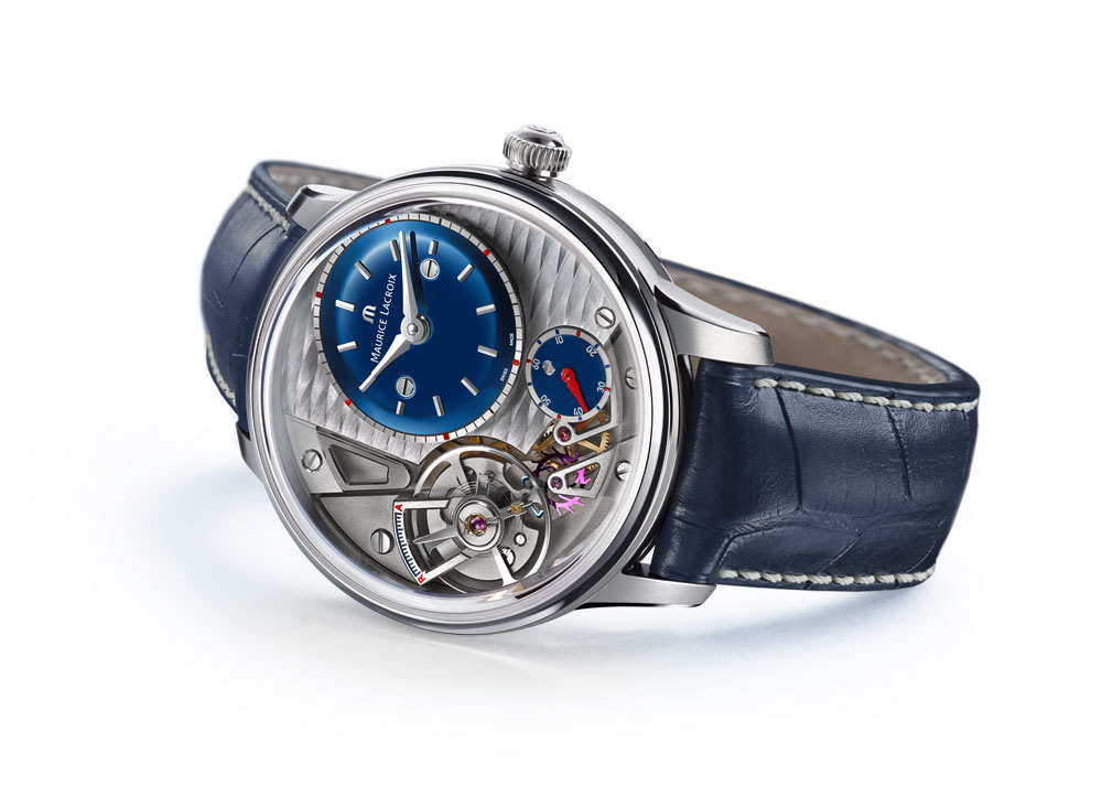 Reloj Masterpiece Gravity Blue Maurice Lacroix