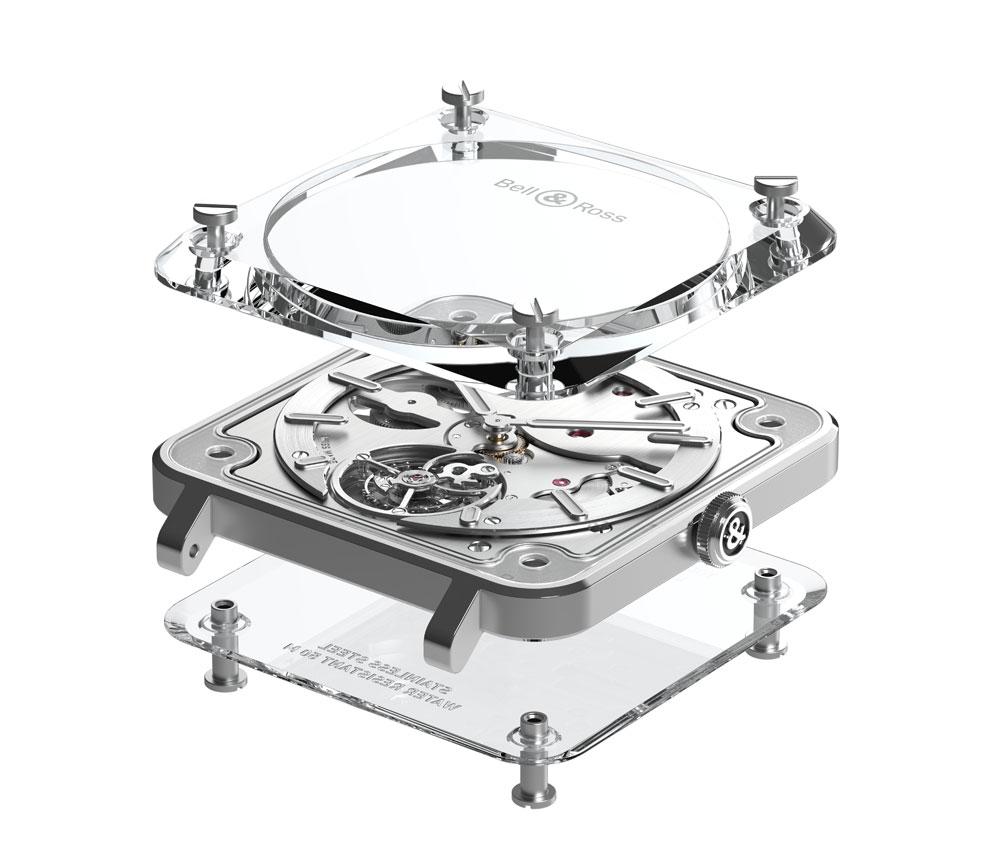 Caja Reloj BR-X2 Tourbillon Micro-Rotor de Bell & Ross