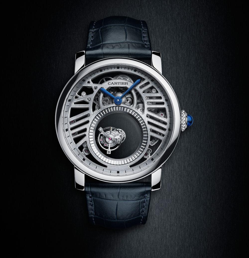 Reloj Rotonde de Cartier Mysterious Double Tourbillon