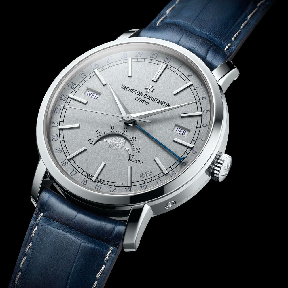 Reloj Traditionnelle Calendario Completo Collection Excellence Platine de Vacheron Constantin