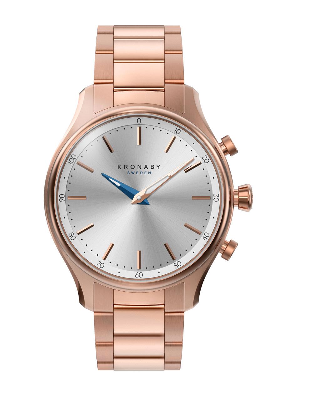 Reloj conectado modelo Sekel marca sueca Kronaby