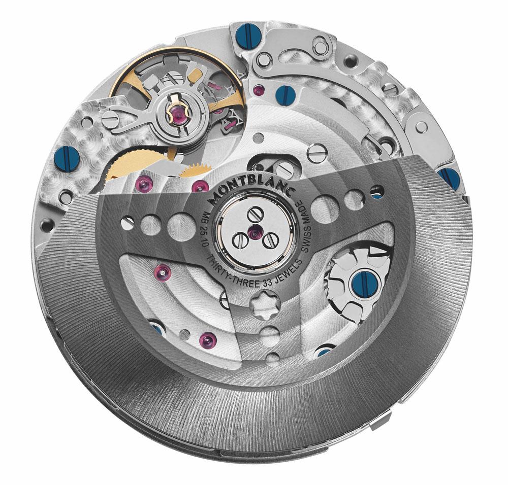 calibre MB 25.10 Reloj Montblanc TimeWalker Manufacture Chronograph