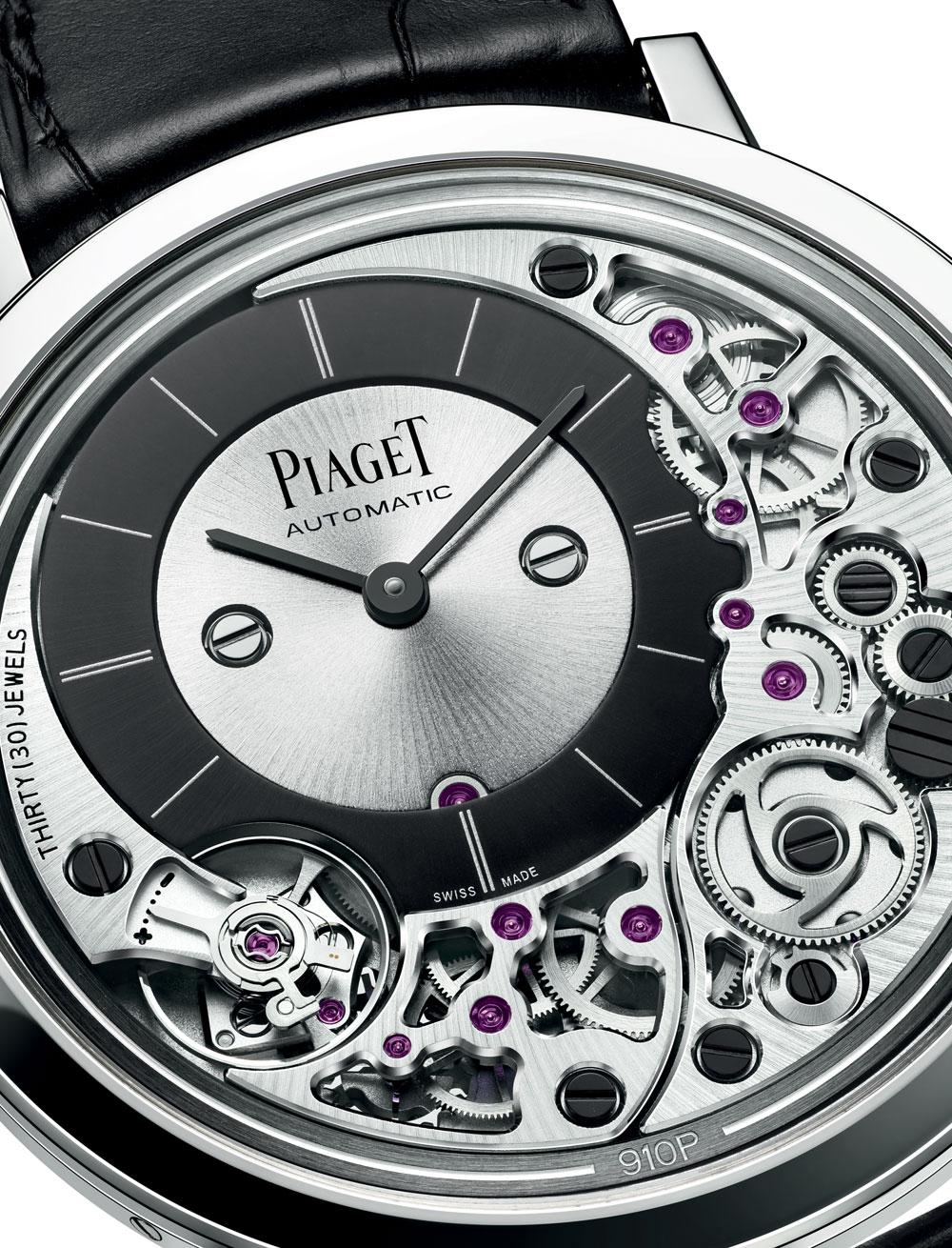 Piaget Altiplano Ultimate Automatic, el reloj automático con la caja más plana del mundo