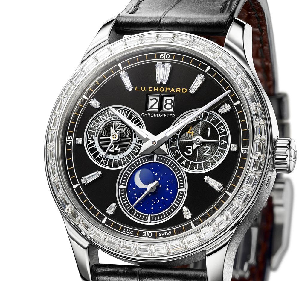 Esfera Reloj Chopard L.U.C Lunar One Black Tie