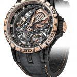 Reloj Excalibur Aventador S bisel oro rosa de Roger Dubuis