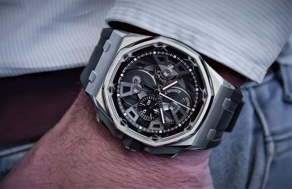 0173faef52b Reloj ROYAL OAK OFFSHORE TOURBILLON CHRONOGRAPH Audemars Piguet