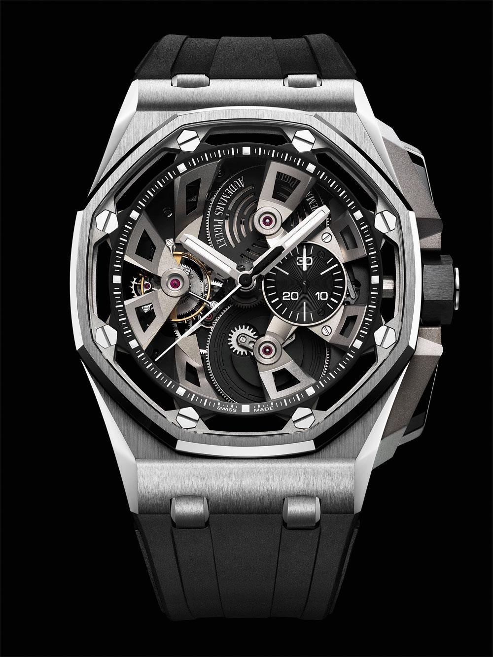 Reloj Audemars Piguet Reloj Audemars Piguet Royal Oak Offshore Tourbillon Chronograph acero