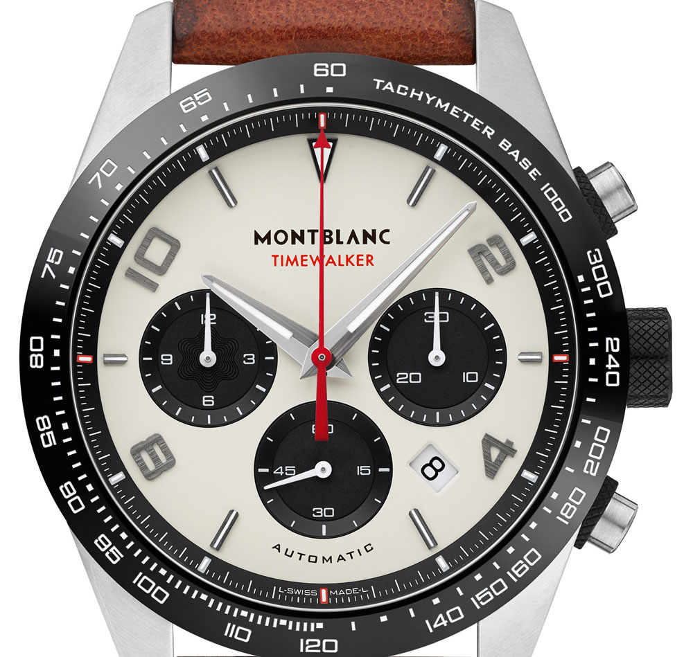 Esfera panda Reloj Montblanc TimeWalker Manufacture Chronograph