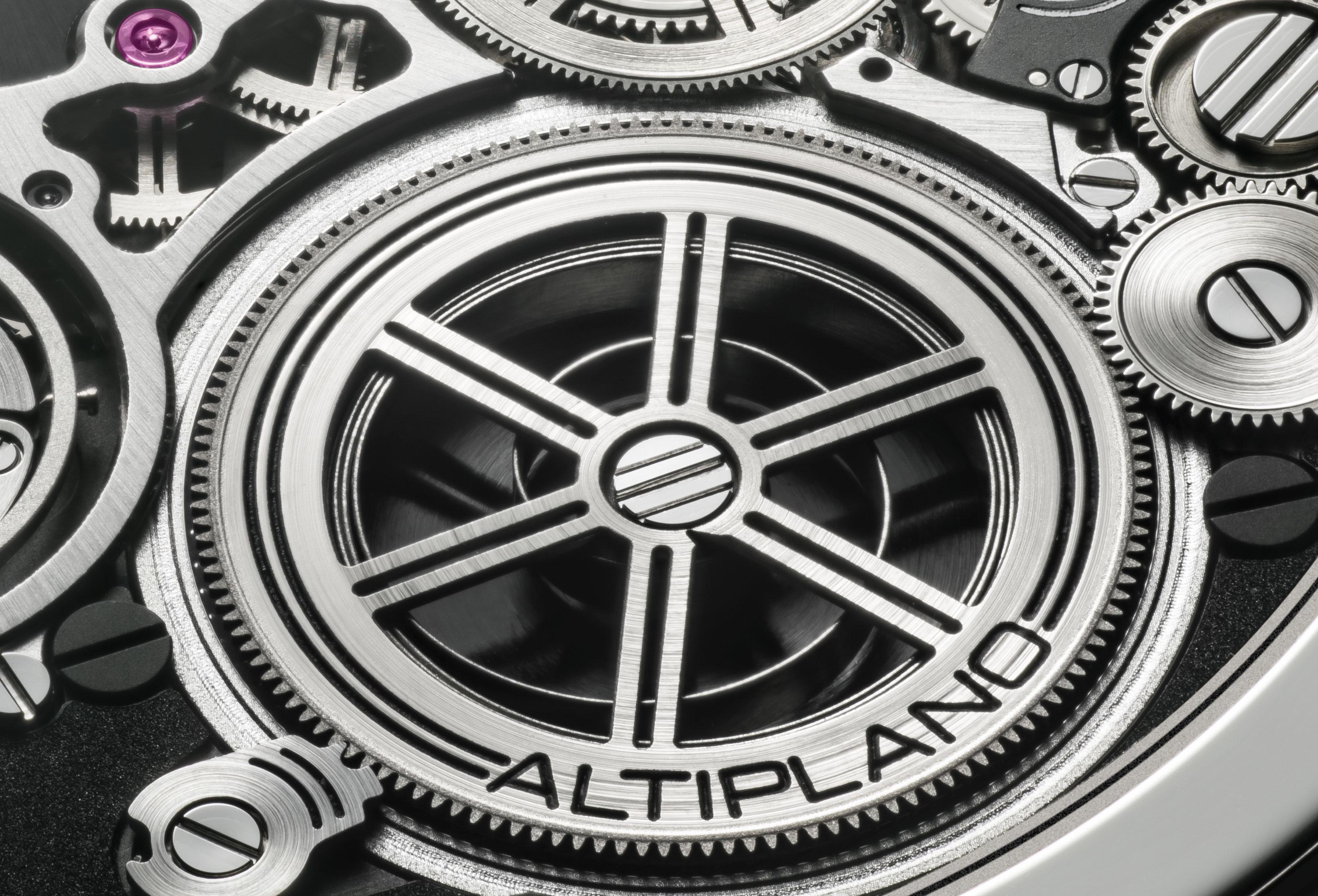 Barrilete reloj más plano del mundo Altiplano Ultimate Concept de Piaget
