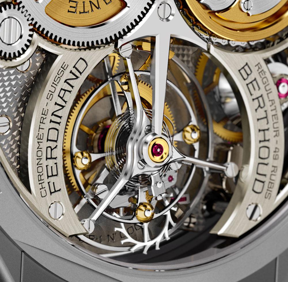 Tourbillon Reloj CHRONOMÉTRIE FERDINAND BERTHOUD FB-1R.6-1