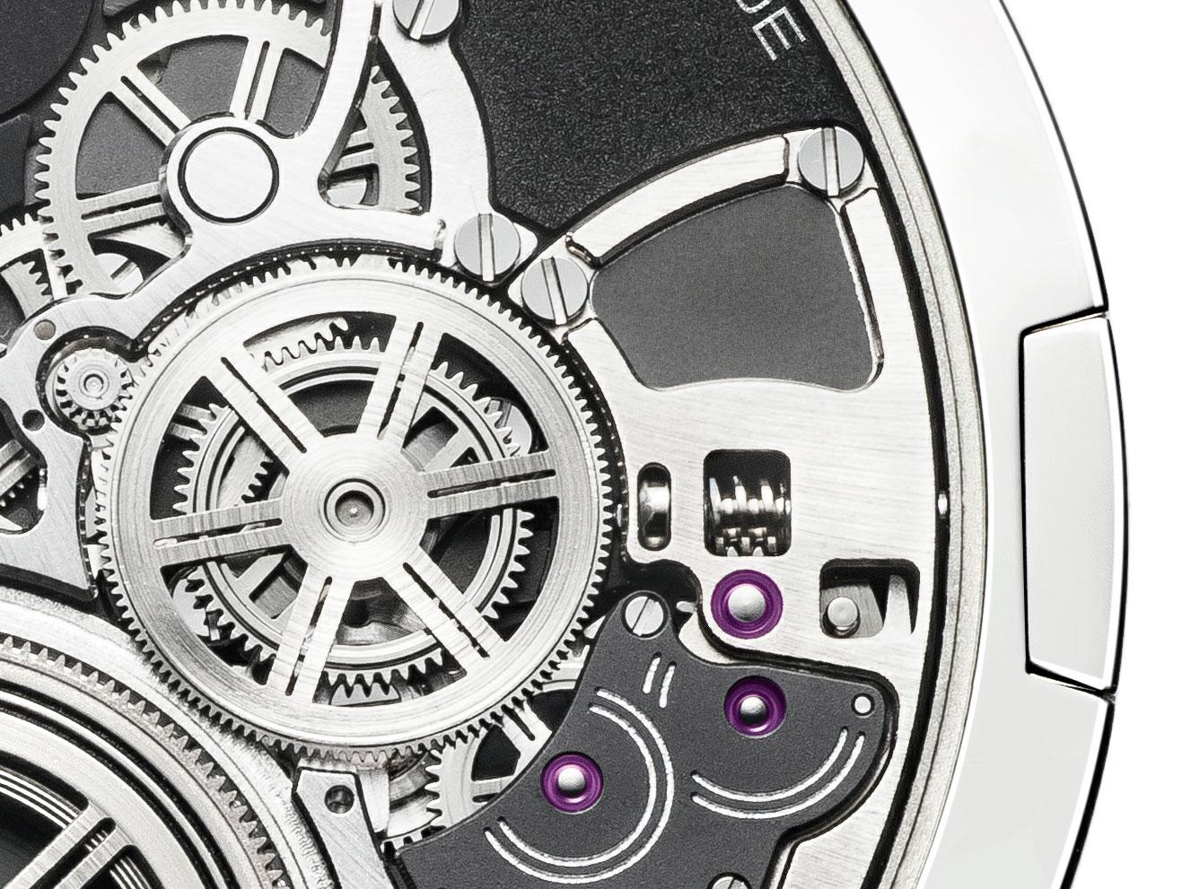 Dispositivo control reloj más plano del mundo Altiplano Ultimate Concept de Piaget