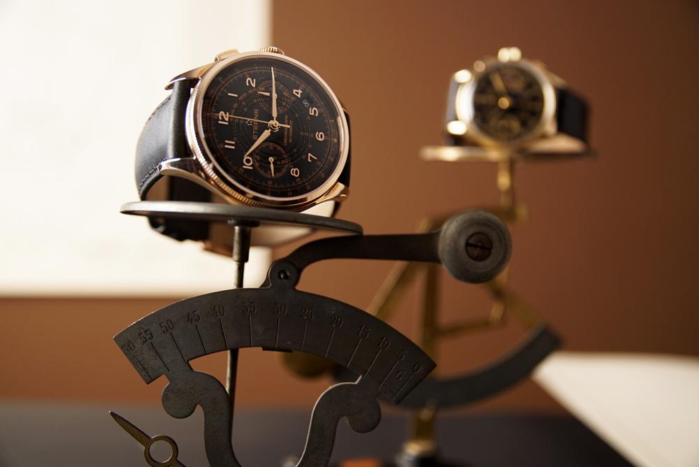 Reloj 1940 Telemeter Chronograph Flyback Bronze Manufacture de Eterna