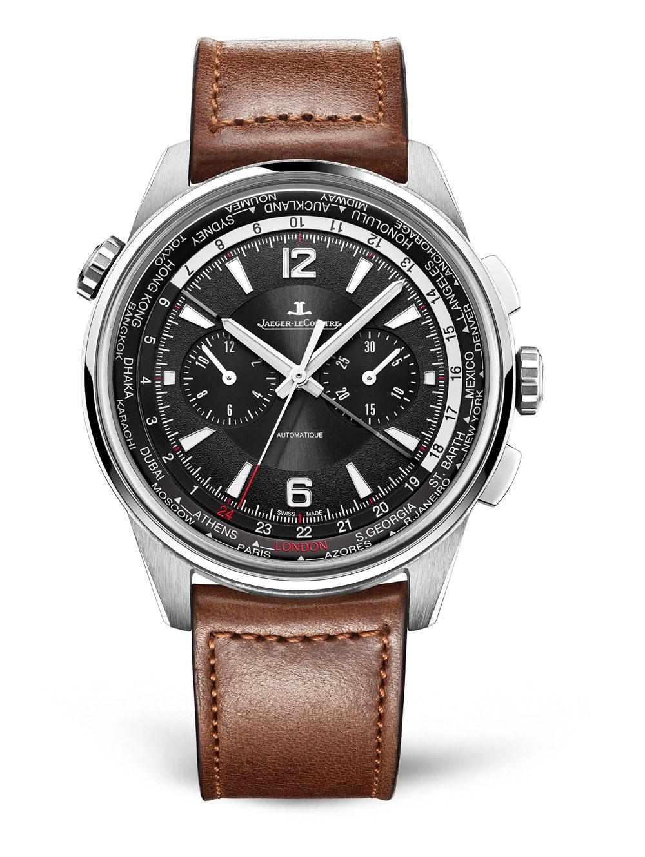 Reloj Jaeger-LeCoultre Polaris Chronographa WT con horas universales