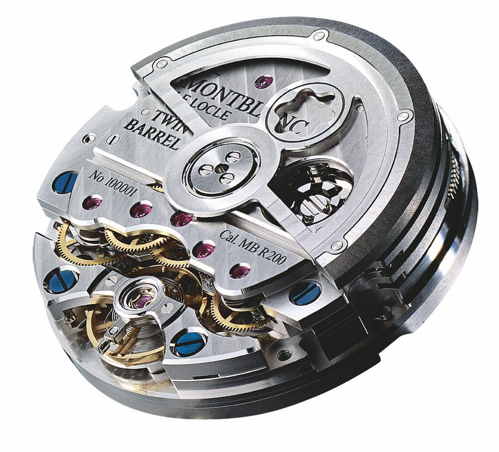 Mecanismo automático manufactura Montblanc Cronógrafo monopulsante Star Legacy Nicolas Rieussec Chronograph