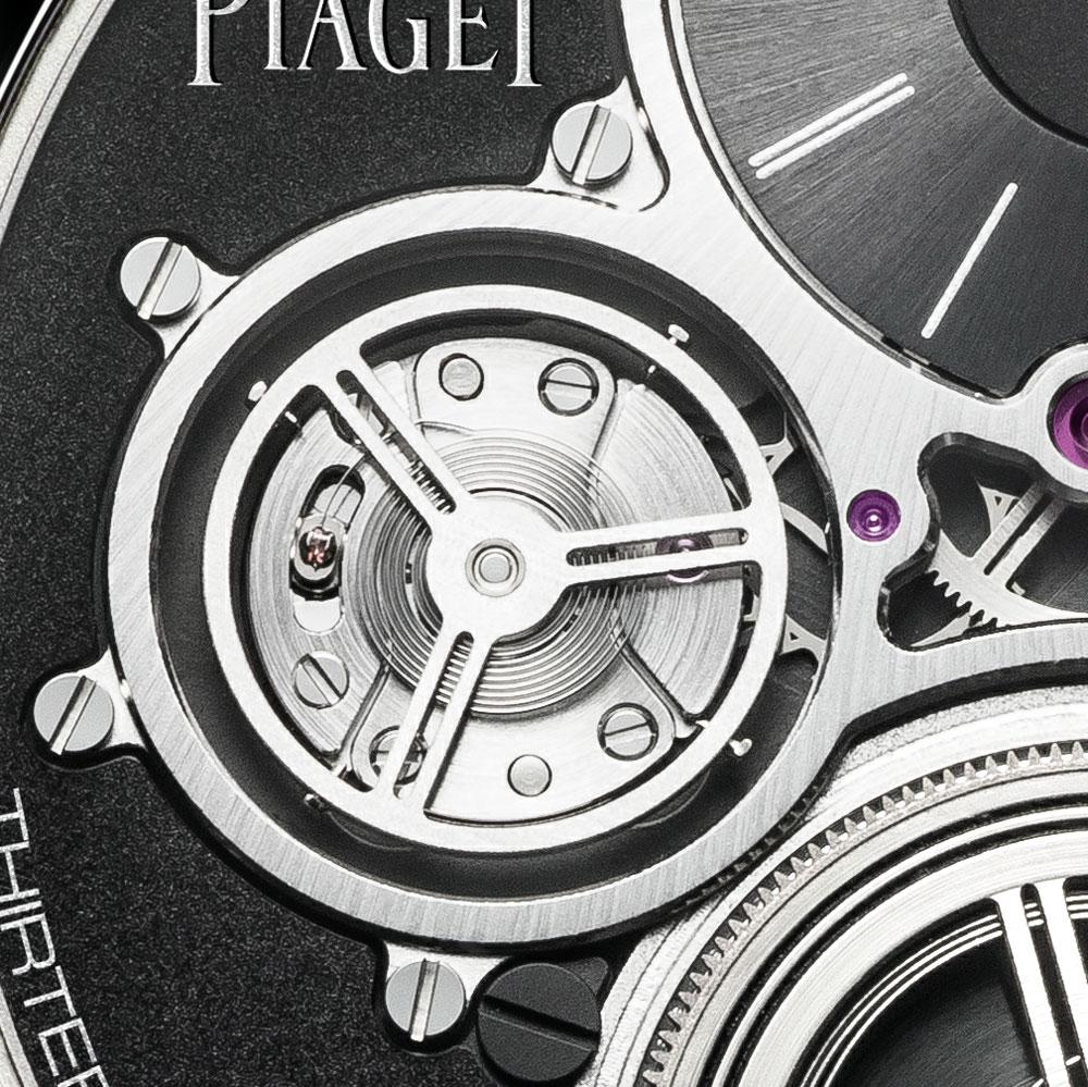 órgano regulador Reloj más plano del mundo Altiplano Ultimate Concept de Piaget