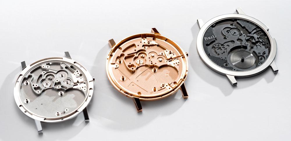 Caja-platina Reloj más plano del mundo Altiplano Ultimate Concept de Piaget
