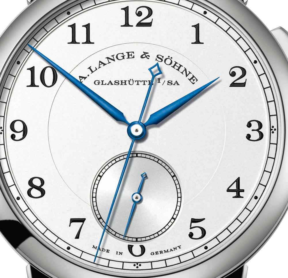 Esfera Reloj 1815 Homage to Walter Lange de A. Lange & Söhne