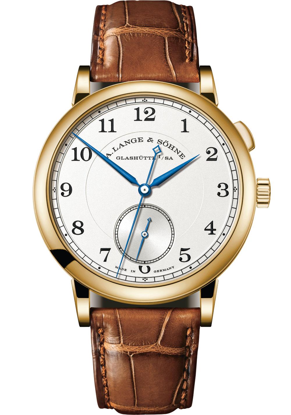 Reloj 1815 Homage to Walter Lange de A. Lange & Söhne oro amarillo
