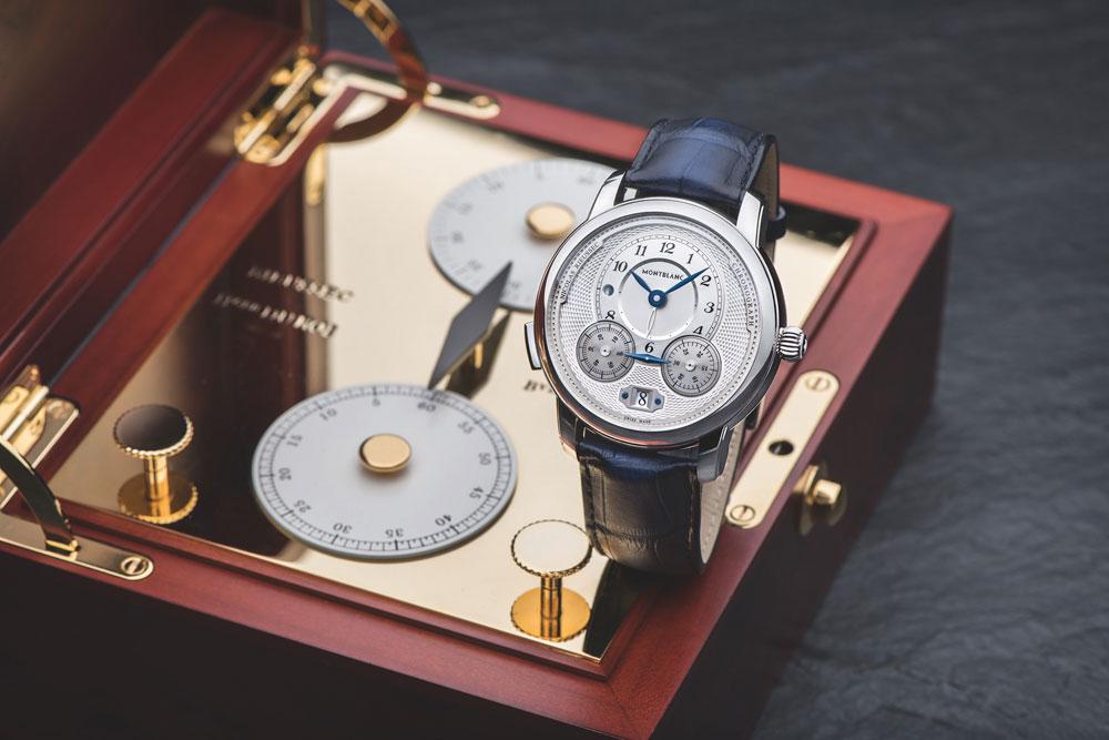 Montblanc Cronógrafo monopulsante Star Legacy Nicolas Rieussec Chronograph