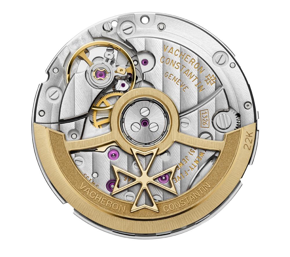 Calibre autoático 1326 del reloj Fiftysix Automático de Vacheron Constantin