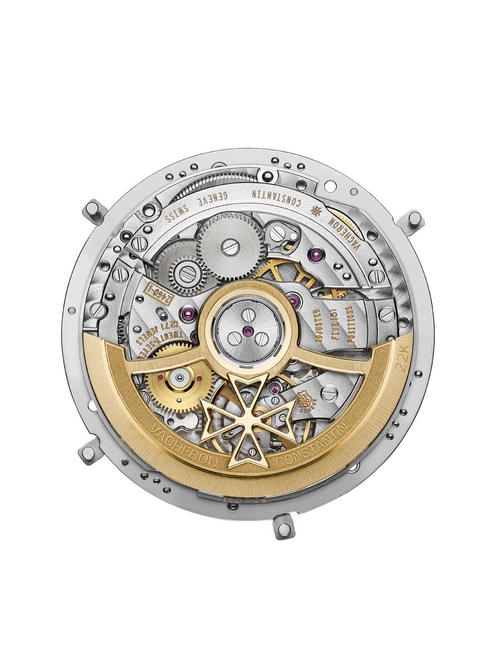 calibre 2460 QCL/1, de cuerda automática, del reloj Fiftysix Calendario Completo de Vacheron Constantin