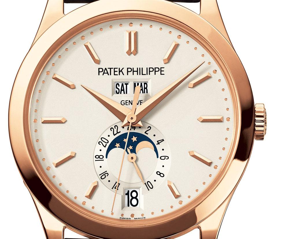 Esfera Reloj Patek Philippe Calendario Anual Fases lunares referencia 5396R