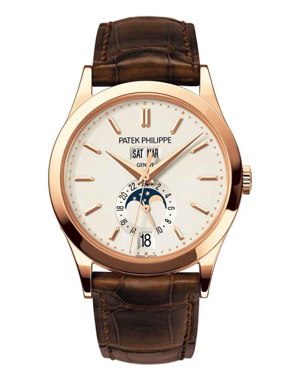 Reloj Patek Philippe Calendario Anual Fases lunares referencia 5396R