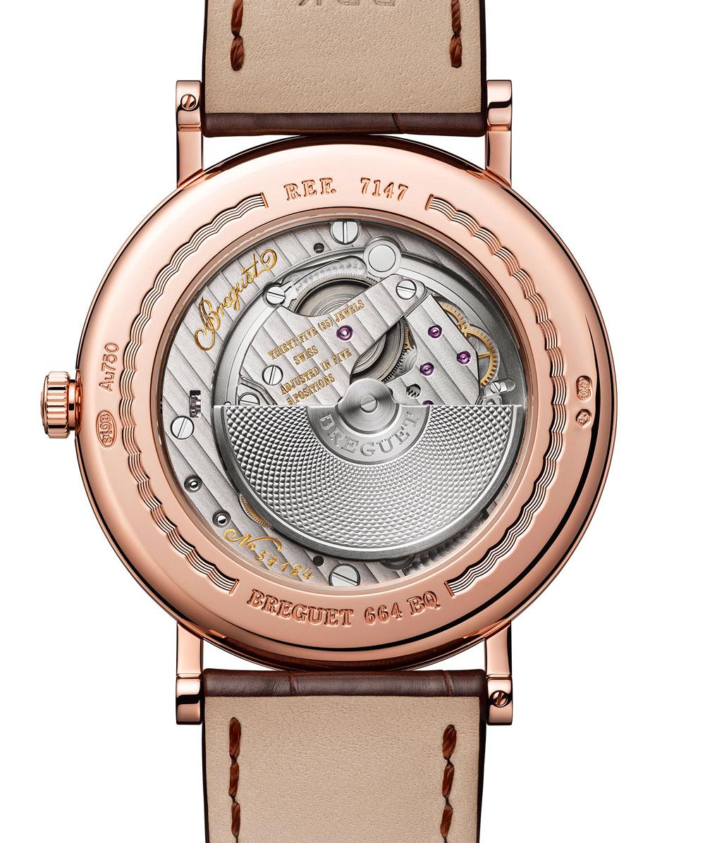 calibre automático Reloj Breguet Classic 7147