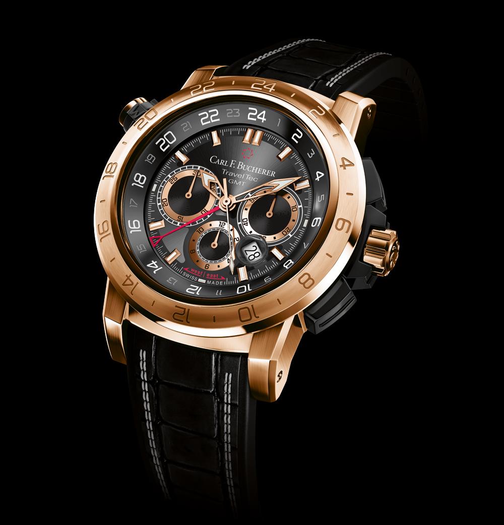 Reloj Patravi TravelTec II en oro rosa de Carl F. Bucherer