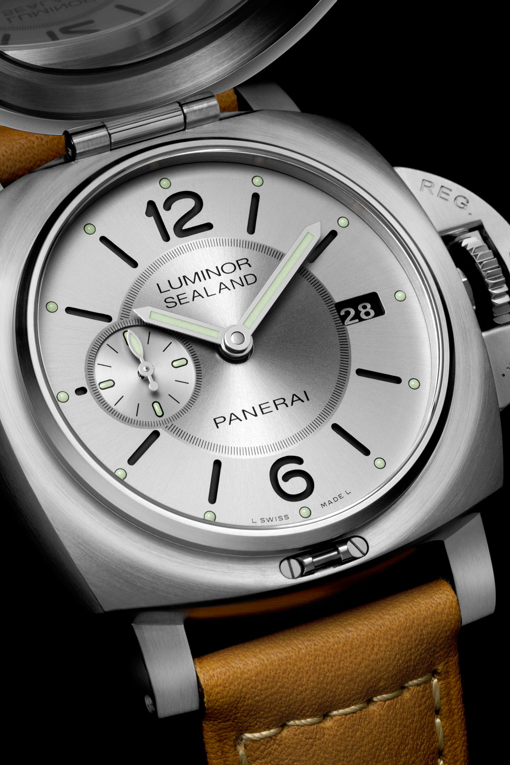 Reloj LUMINOR 1950 SEALAND 3 DAYS AUTOMATIC ACCIAIO – 44mm de Panerai
