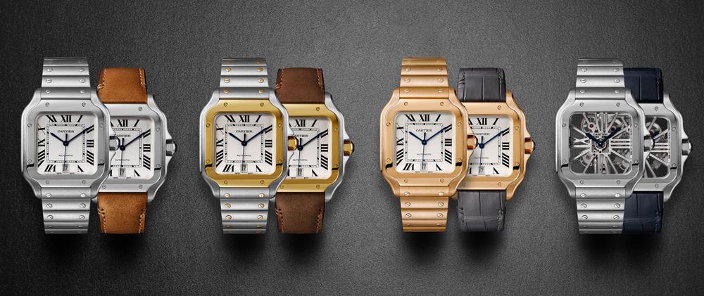 Nuevos relojes Santos de Cartier