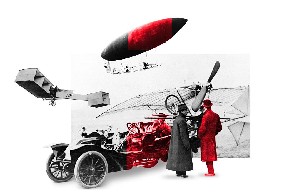 Piloto brasileño Santos Dumont