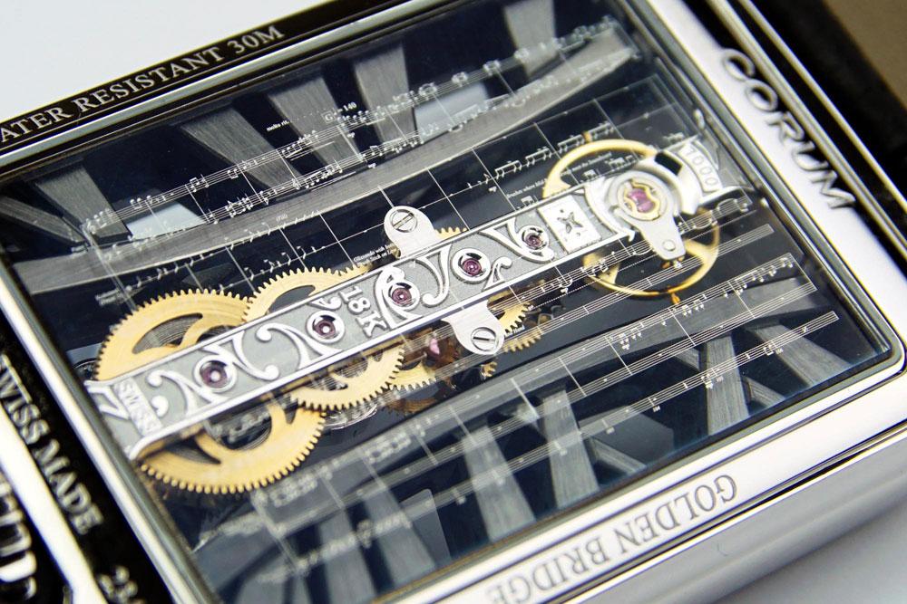 Reloj Corum el Golden Bridge Joachim Horsley