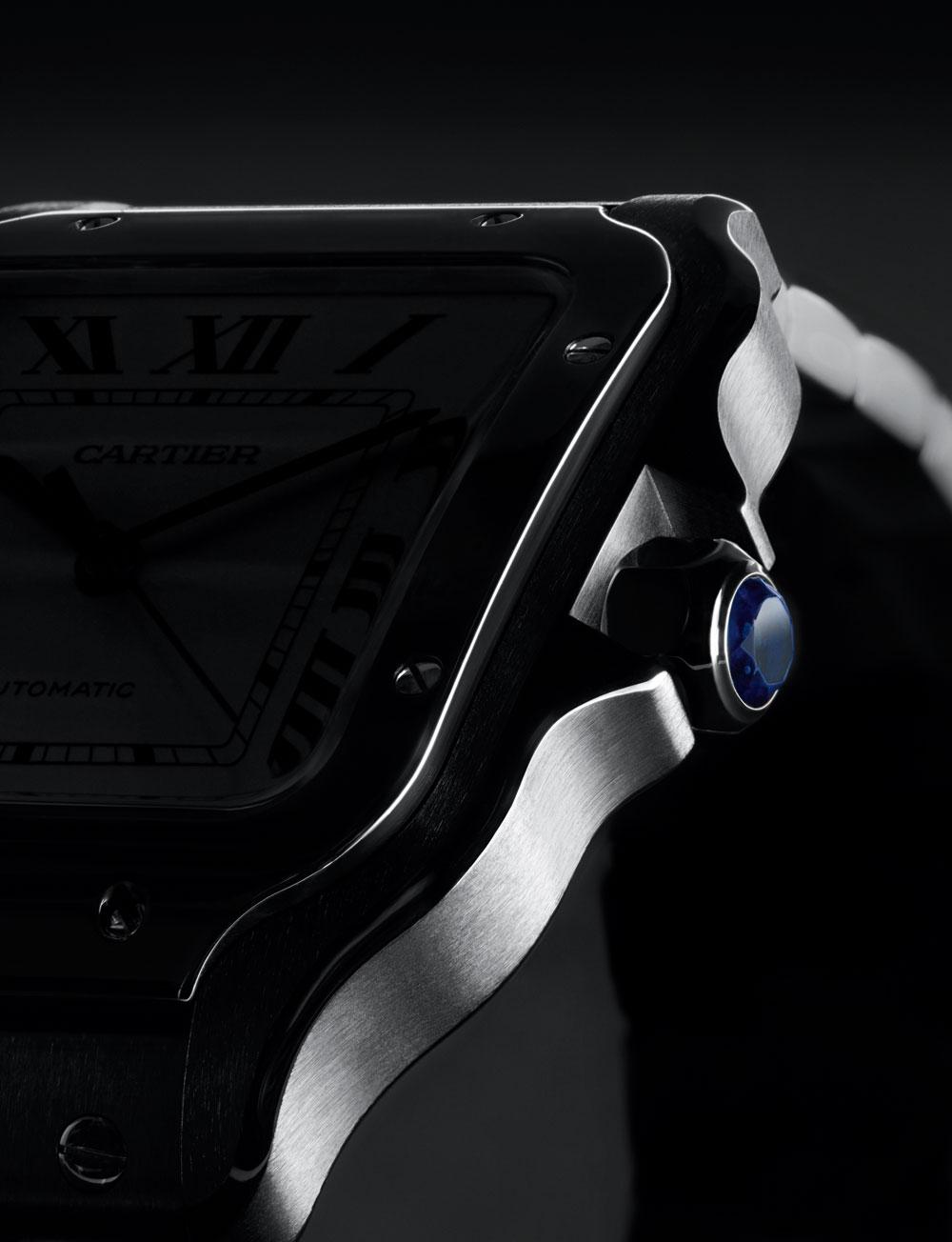 Nuevo reloj Santos de Cartier acero