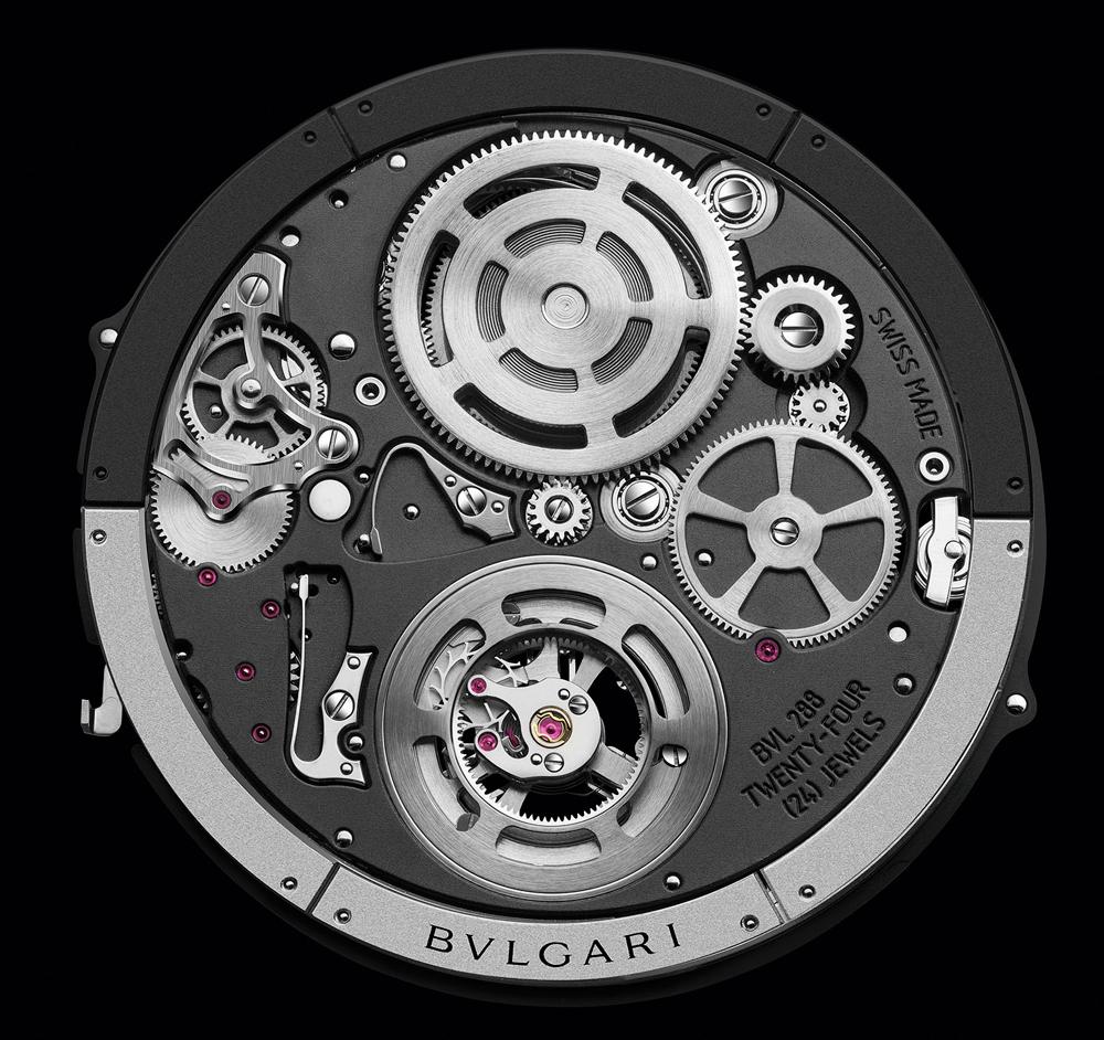 Calibre BVL 288 Reloj Octo Finissimo Tourbillon Automatic de Bulgari