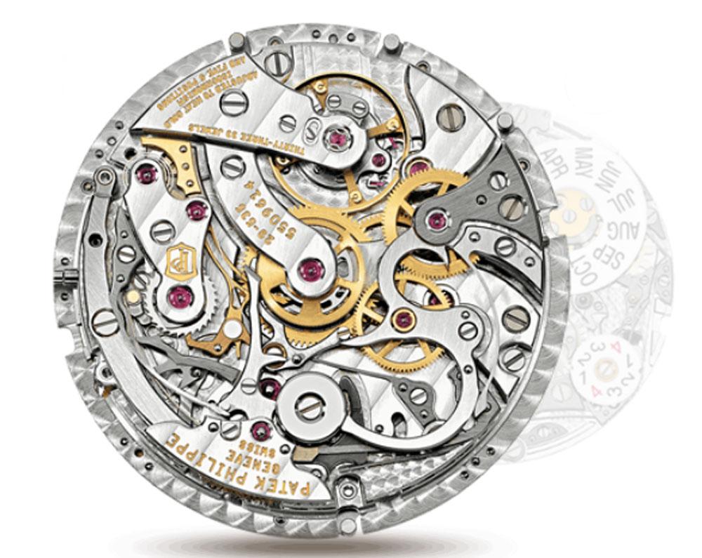 Calibre Reloj Patek Philippe Cronógrafo Calendario Perpetuo Ref. 5270R