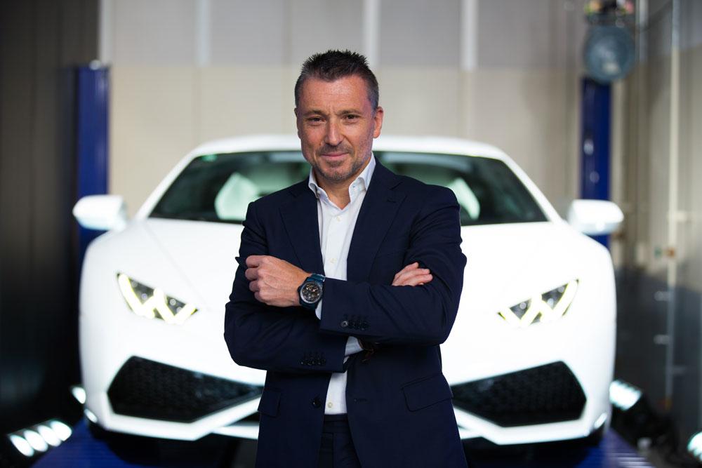 JEAN-MARC PONTROUE, CEO DE ROGER DUBUIS