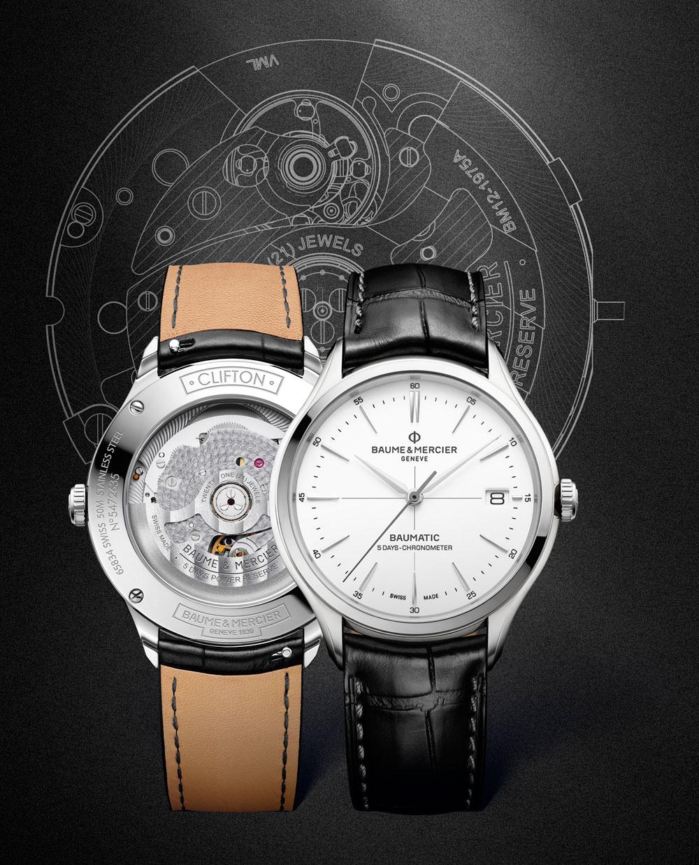 Nuevo reloj Clifton Baumatic de Baume & Mercier