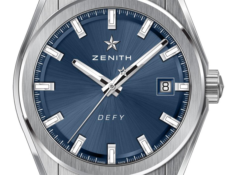 Reloj Zenith Defy Classic esfera azul Titanio