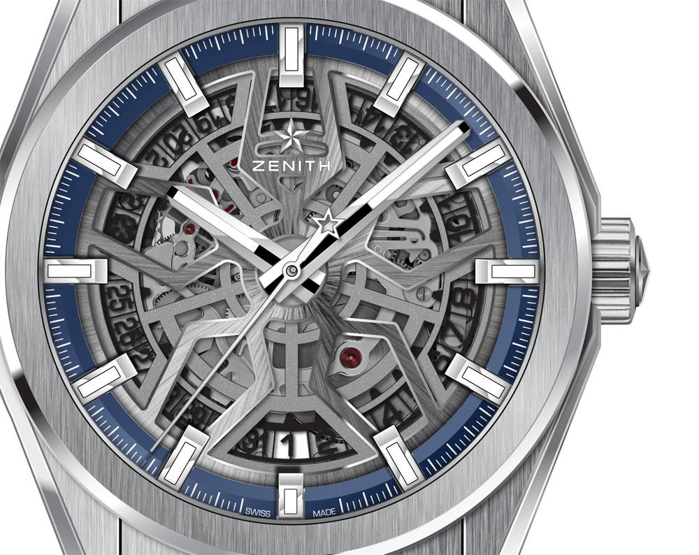 Reloj Zenith Defy Classic Esqueleto Titanio