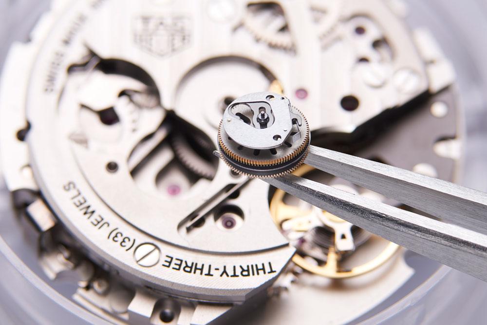 Calibre Heuer 02 Reloj TAG Heuer Carrera Heuer 02